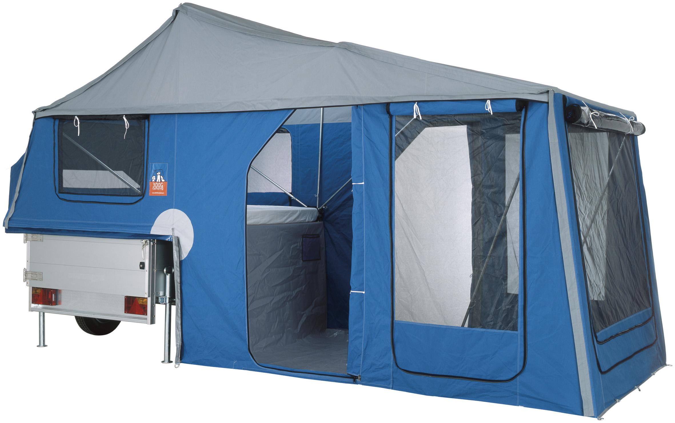 kurzvorstellung 3dog camping faltcaravans aus hamburg. Black Bedroom Furniture Sets. Home Design Ideas