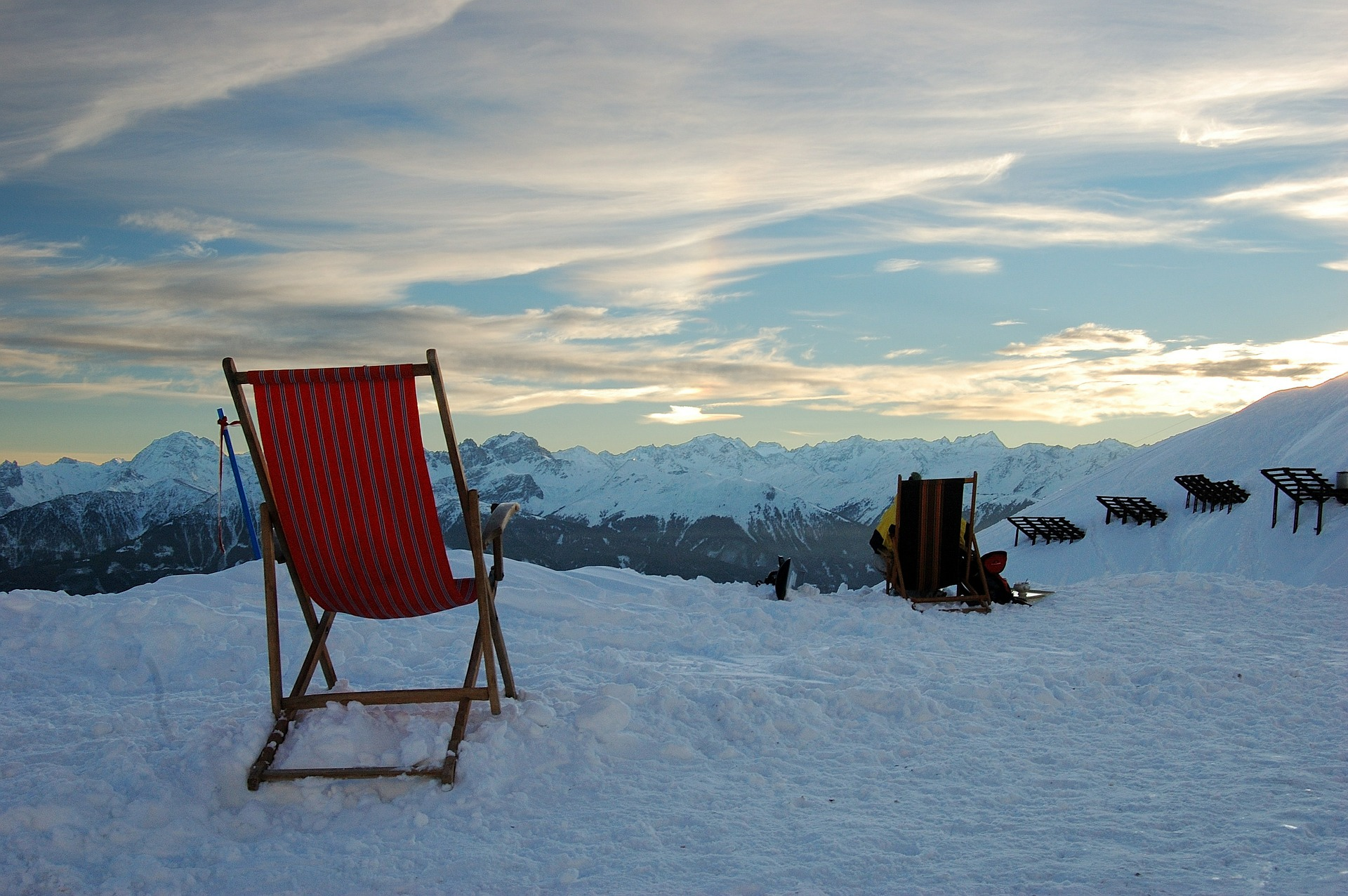 Faltcaravaning bei Schnee