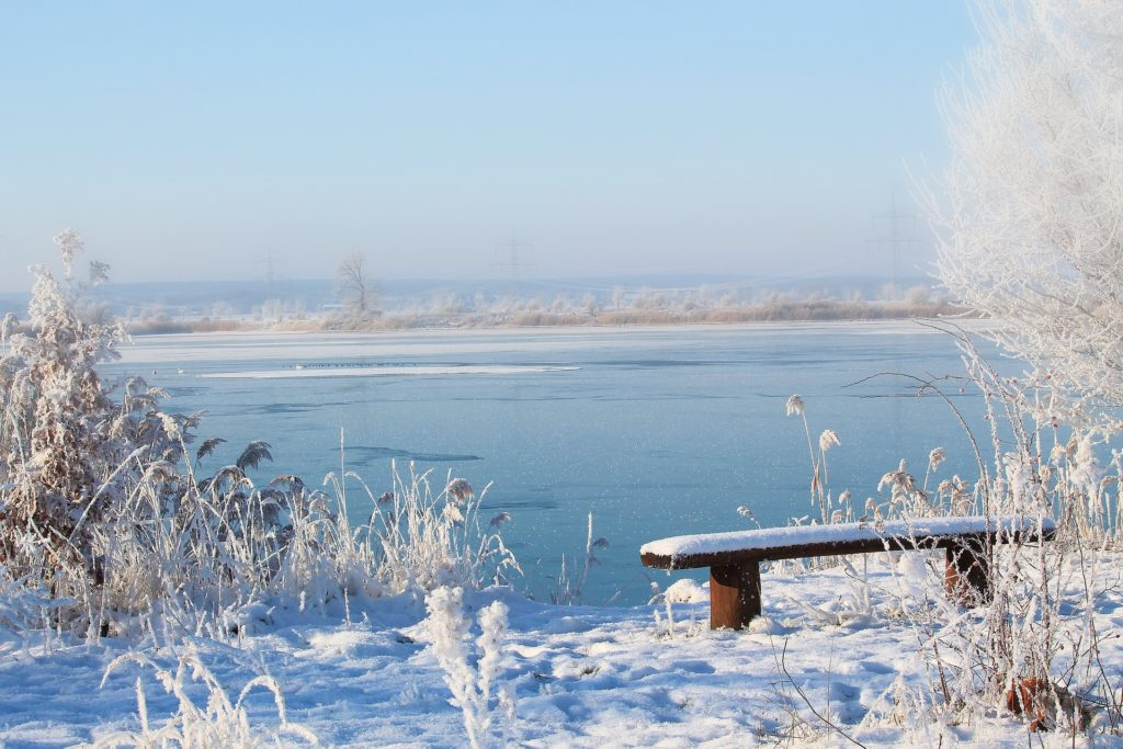 Faltcaravan winterfest